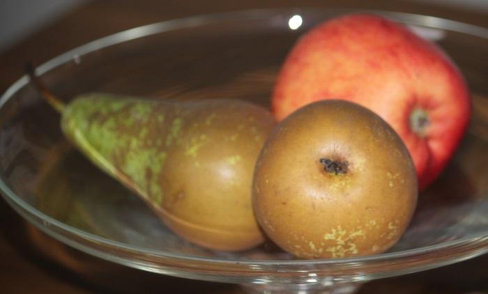 Tussen de peren en de appels in