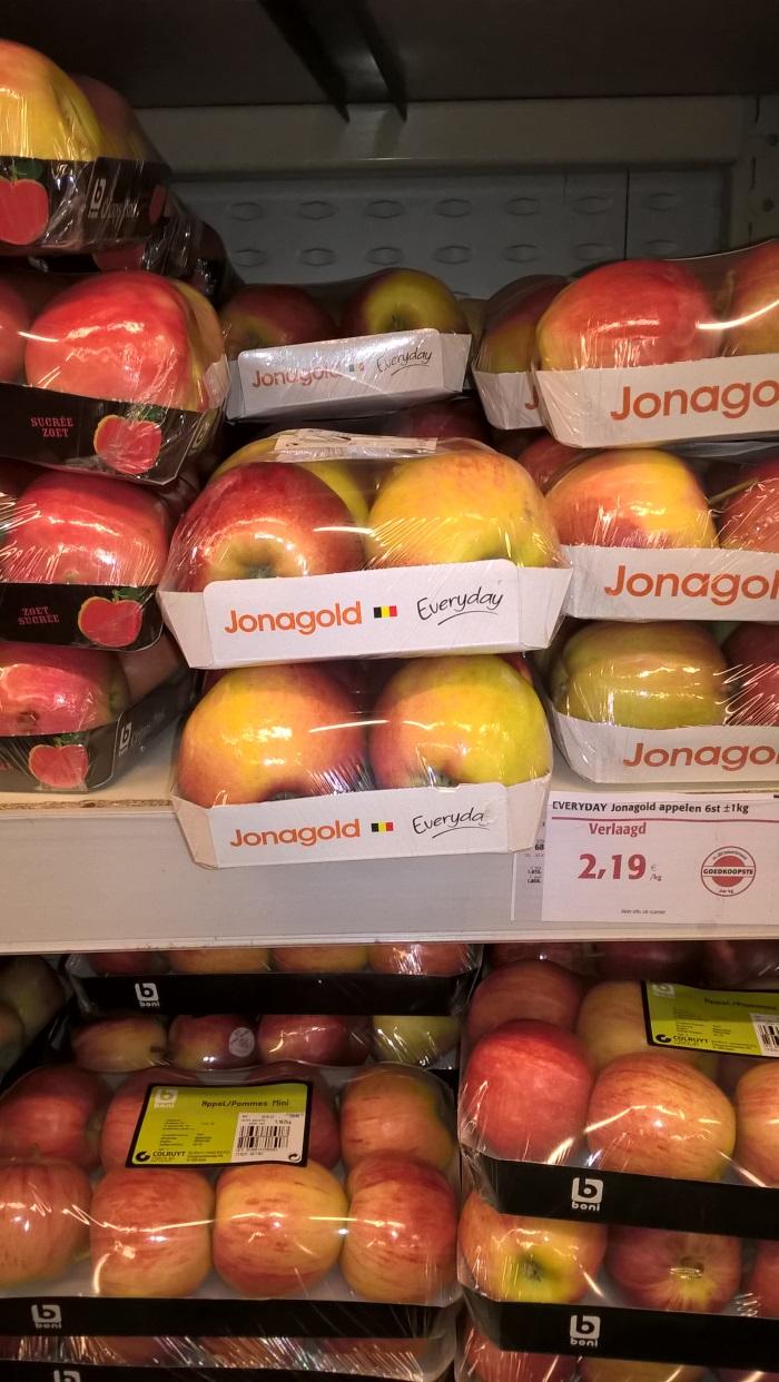 De Belgische appels