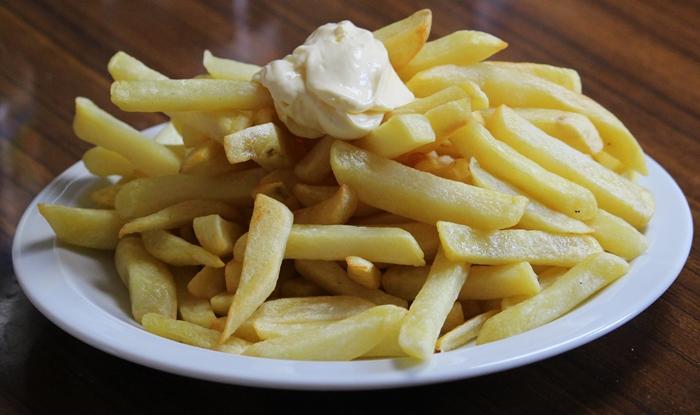 Olla Pollo, friet zonder cola
