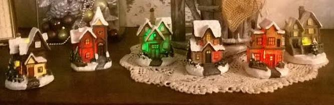 Het blitse kerstdorp