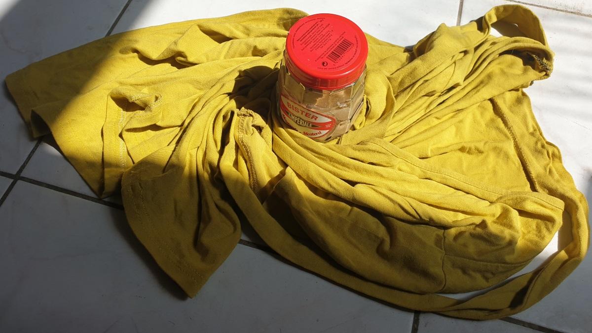 Door de mosterd gehaald