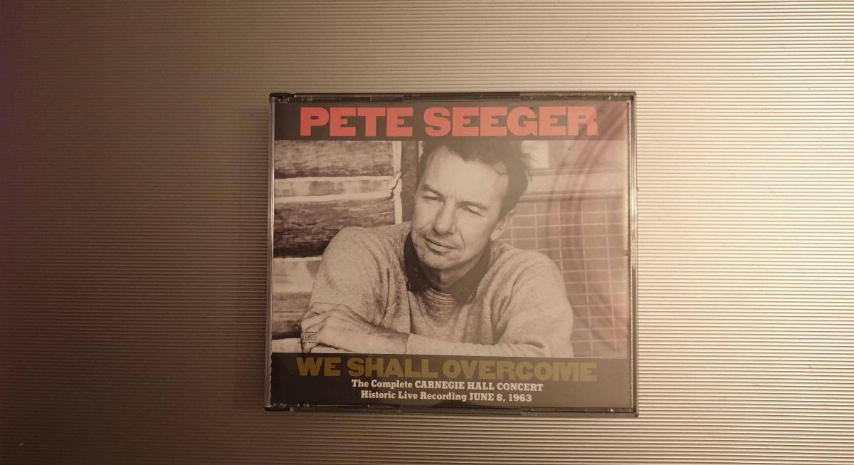 Pete Seeger in Carnegie Hall