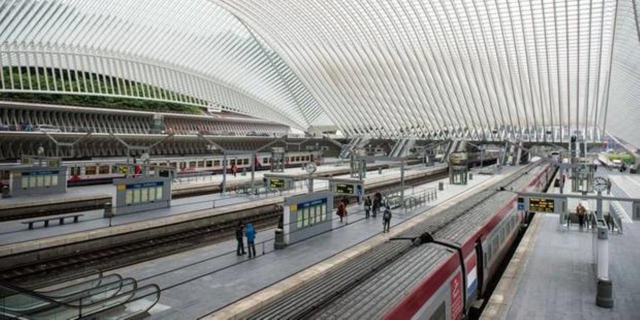 Het vernieuwd station van Luik-Guillemins