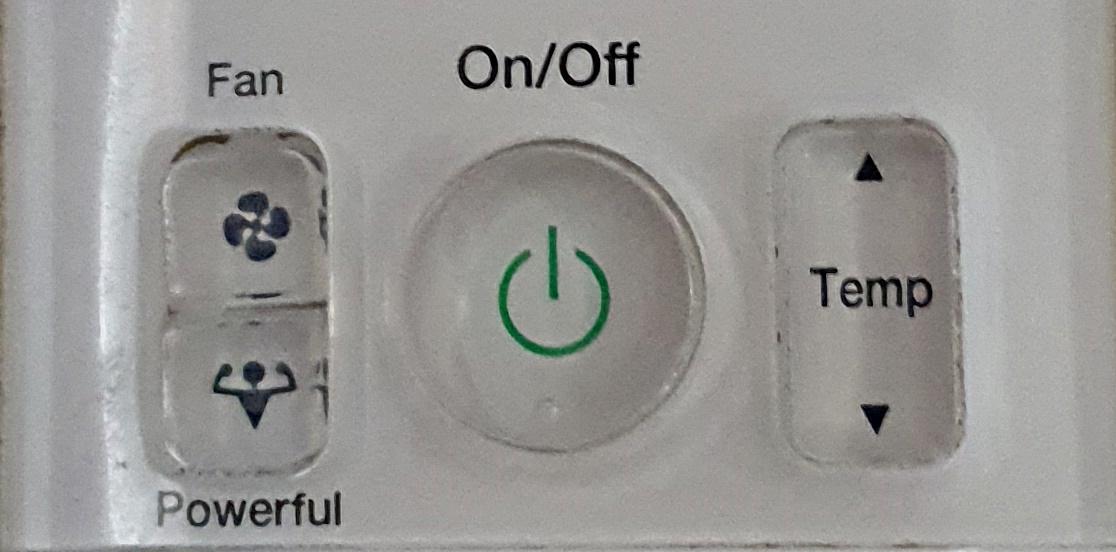 Een druk op de knop