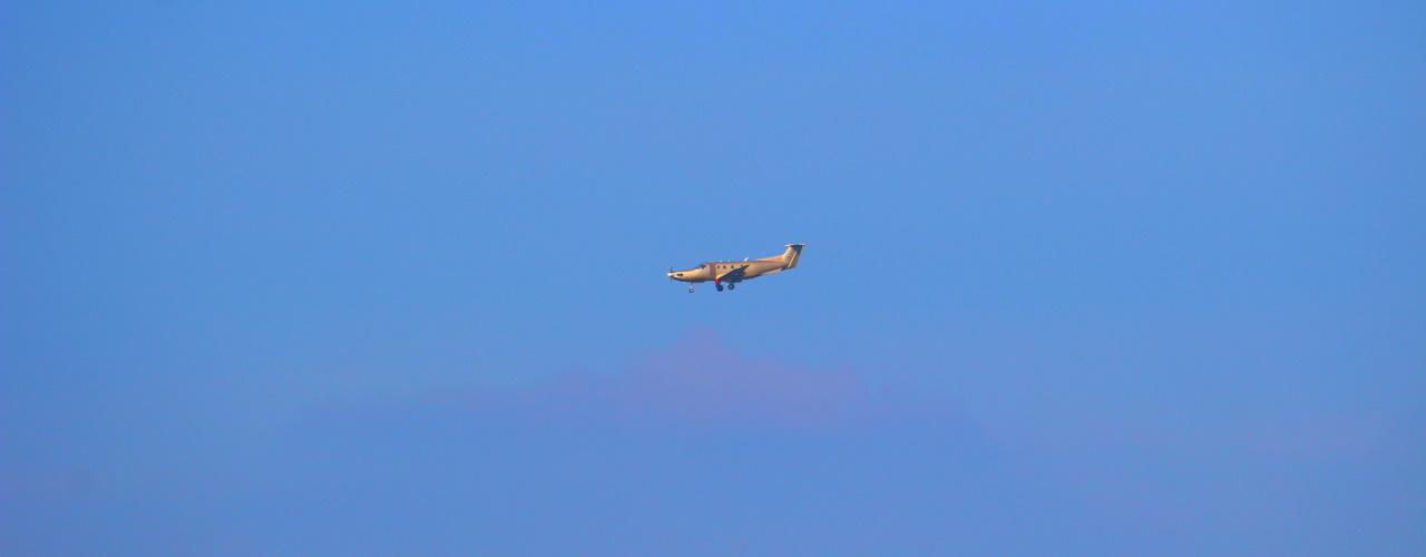 Een kijkje in het luchtruim