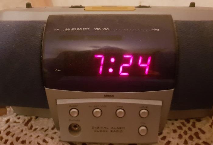 De ingebouwde klok