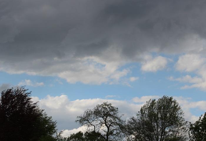Met mijn gedachten in de wolken